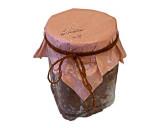 جلاتو موز شکلات با گردو و کره بادام زمینی